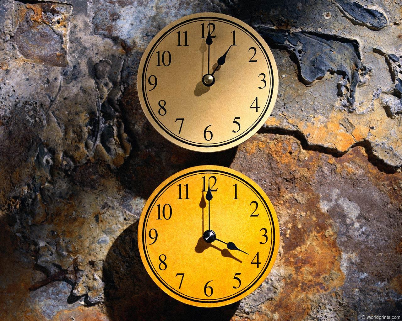 Как сделать большие часы на рабочем с 164